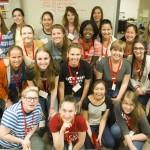 Hi Gear high school women learning about science and engineering.